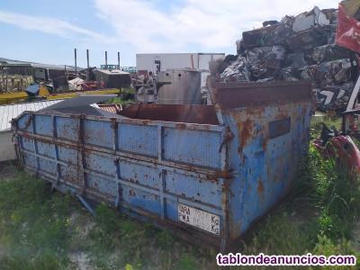 Caja de camion de unos 4 x 2,10 m