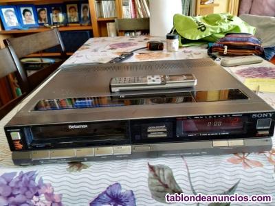 Video SONY Betamax SL-F60EC en perfectas condiciones y mando