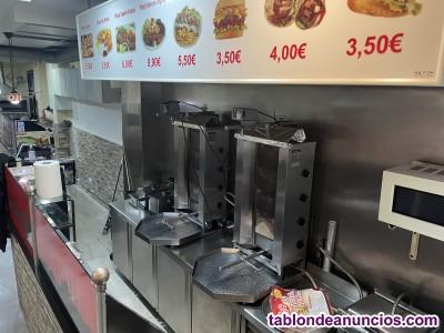 Traspaso kebab pizzeria