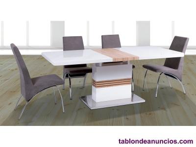 Vendo mesa extensible + 4 sillas