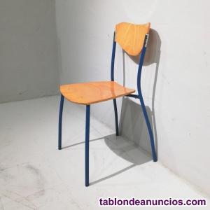Conjunto mesa 70x70cm + 2 sillas