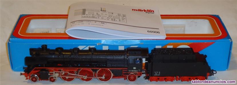 MÄrklin h0, locomotora de vapor br db ref.
