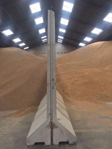 Separadores de hormigón de granos Si usted dispone de un