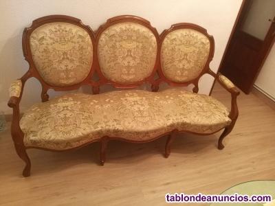 Vendo sofa de tres plazas