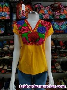 Vendo lote de ropa artesanal mexicana nueva