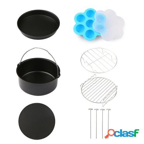 6 piezas accesorios para parrilla de barbacoa juego de