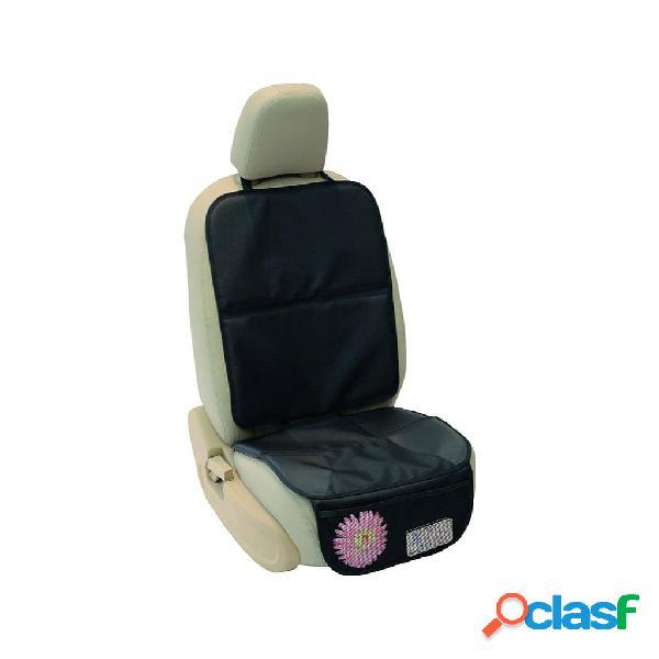 A3 Baby & Kids Protector para asiento de coche deluxe negro