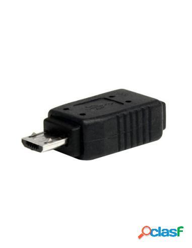 ADAPTADOR KABLEX MICRO USB B MACHO / MINI USB B HEMBRA
