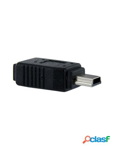 ADAPTADOR STARTECH MICRO USB B HEMBRA / MINI USB B MACHO