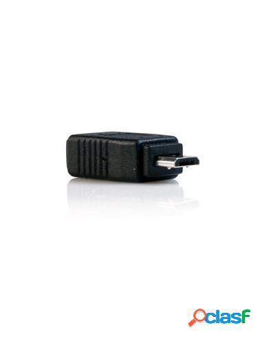 ADAPTADOR STARTECH MICRO USB B MACHO / MINI USB B HEMBRA