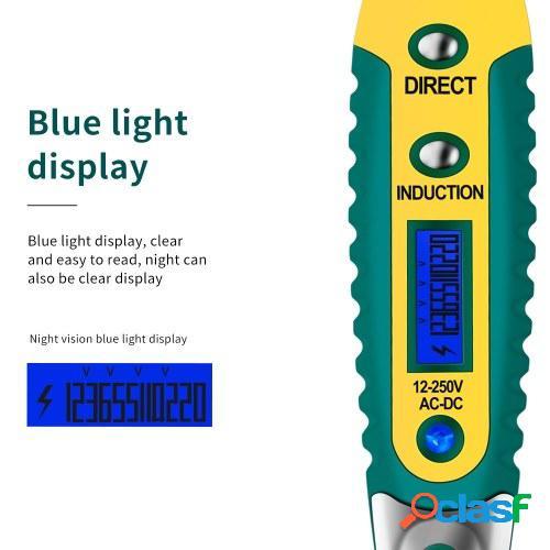 ANENG Bolígrafo de prueba VD700 AC / DC 12-250V LCD