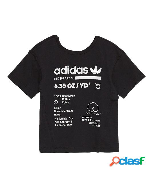 Adidas - Camiseta para Niño Negra - I Kaval Tee Negro