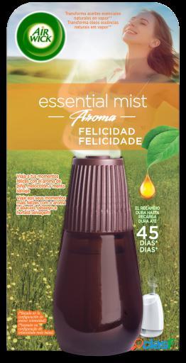 Air Wick Ambientador Essential Mist Felicidad Recambio 20 ml