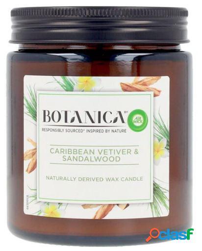 Air Wick Botanica Vela Caribbean Vetiver & Sandalwood 205 gr