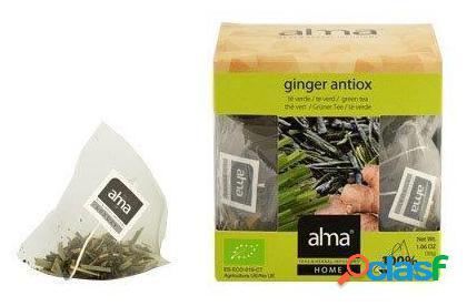 Alma Home Green Tea Ginger 15 Bolsitas 30 gr