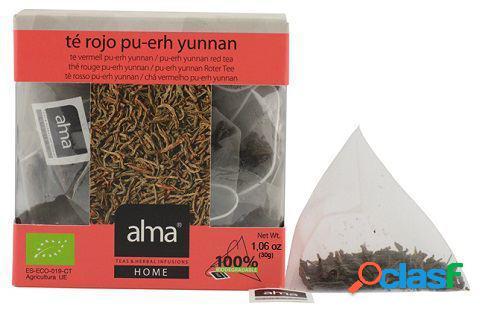 Alma Home Te Yunnan Pu-Erh Eco 15 Bolsitas 30 gr