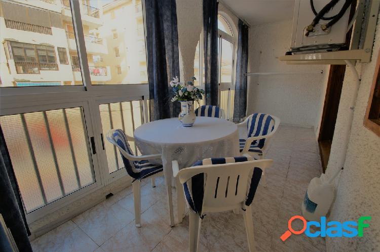 Apartamento 1 + 1 a 400 metros del mar en La Mata