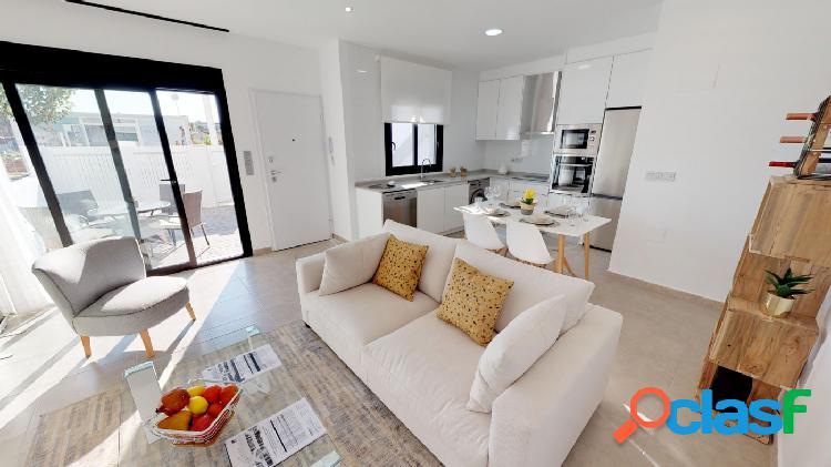 Apartamento de 2 habitaciones con solarium privado en San
