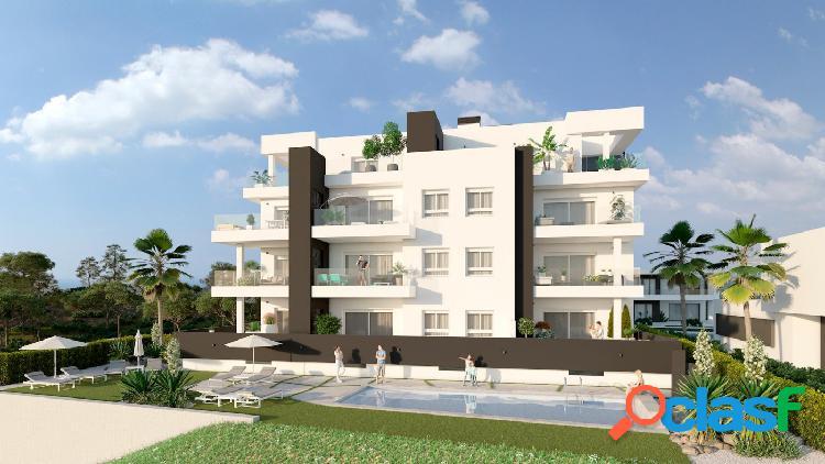 Apartamento de Obra Nueva en Residencial privado en Costa de