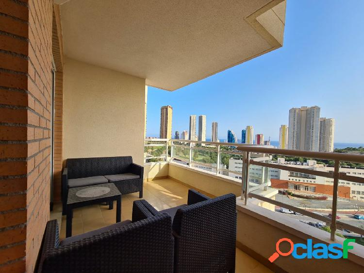 Apartamento en buen estado en playa Poniente - Via Parque