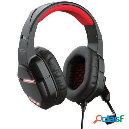 Auriculares gaming con microfono trust gxt 448 nixxo/ negros