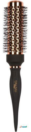 Cala Cepillo para Peinar Oro Rosa y Negro 54 mm