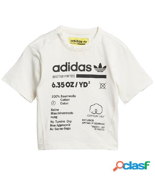 Camiseta Adidas I Kaval Tee Blanco 6-9M