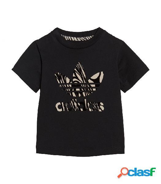 Camiseta Adidas I ZBR TEE Negro 12-18M