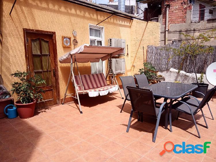 Casa con estupenda terraza de 120 m2