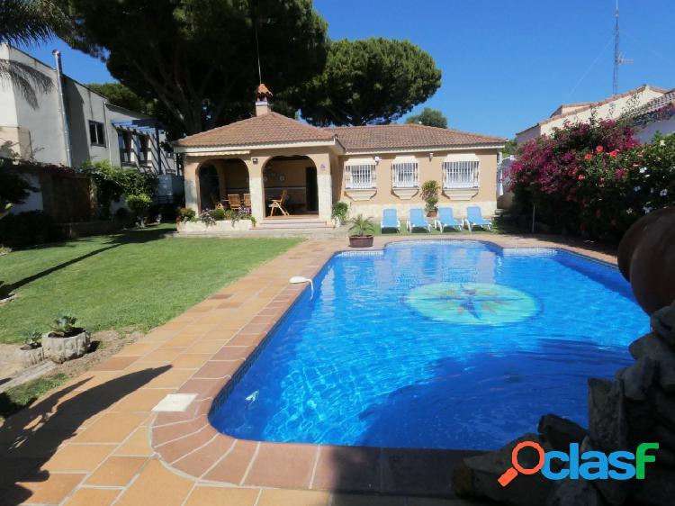 Chalet con piscina en Cerromolino