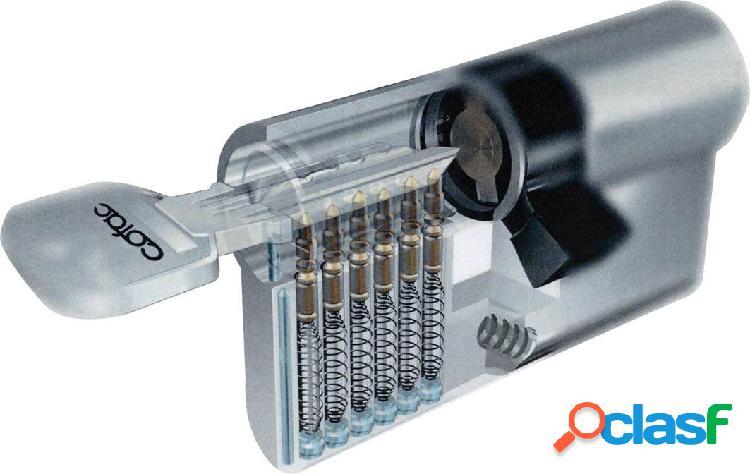Cilindro de seguridad Tesa Latón 30x30mm