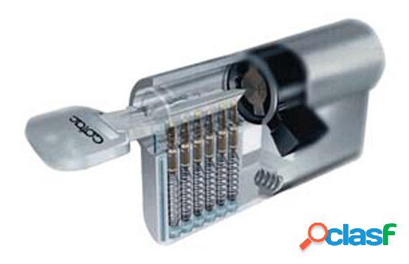 Cilindro de seguridad Tesa Latón 30x50mm