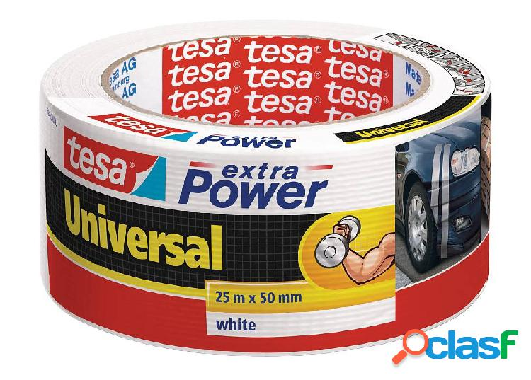Cinta Americana Blanca Tesa Extra Power Universal 25mx50mm