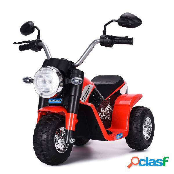 Costway Moto Eléctrica Infantil de Bateria 6V Motocicleta