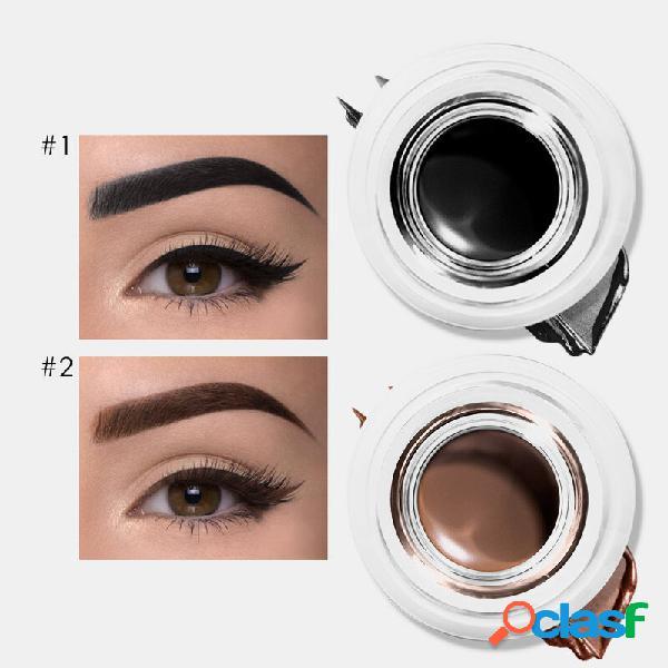 Delineador de ojos de doble uso en 5 colores Gel Crema