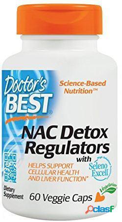 Doctor's Best Reguladores de Desintoxicación Nac 60