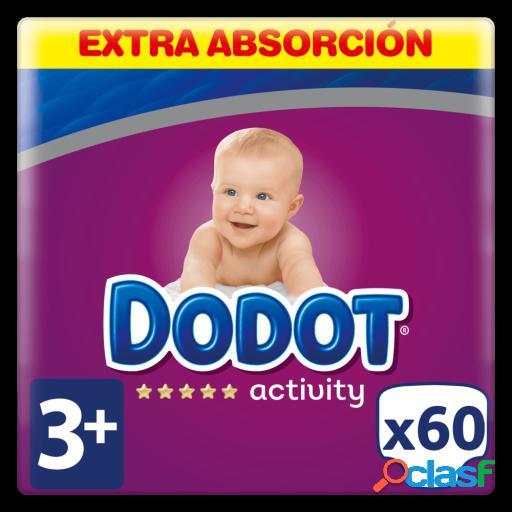 Dodot Activity Extra Pañales Talla 3 con 60 Uds