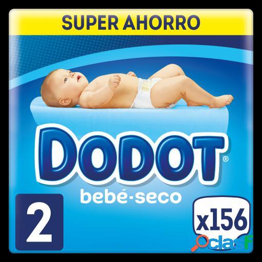 Dodot Bebé Seco Pañales Talla 2 156 uds