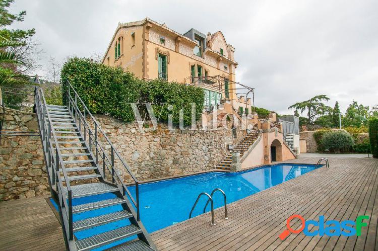 Dúplex de lujo con piscina en Pedralbes