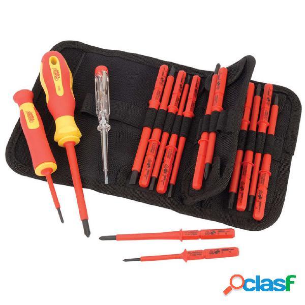 Draper Tools Destornilladores aislados y probador de