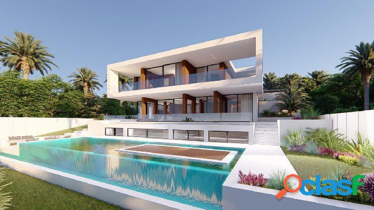 El diseño de esta preciosa villa de cuatro dormitorios y