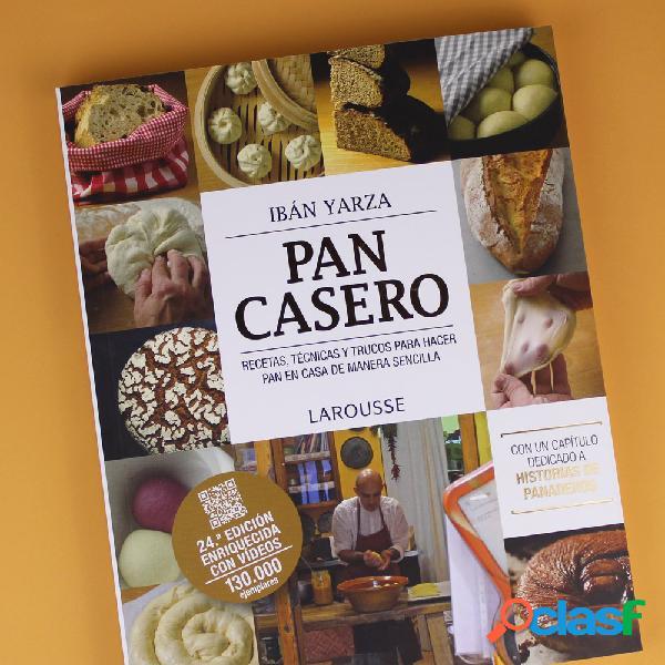El libro para hacer Pan en Casa
