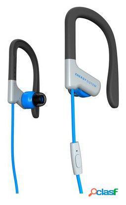 Energy Sistem Earphones Sport 1 Mic Blue