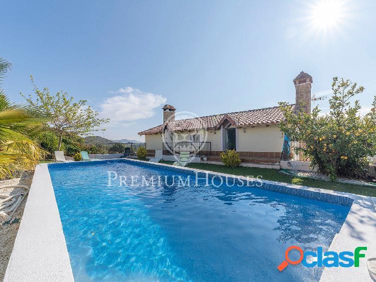 Espectacular casa en venta con impresionantes vistas en