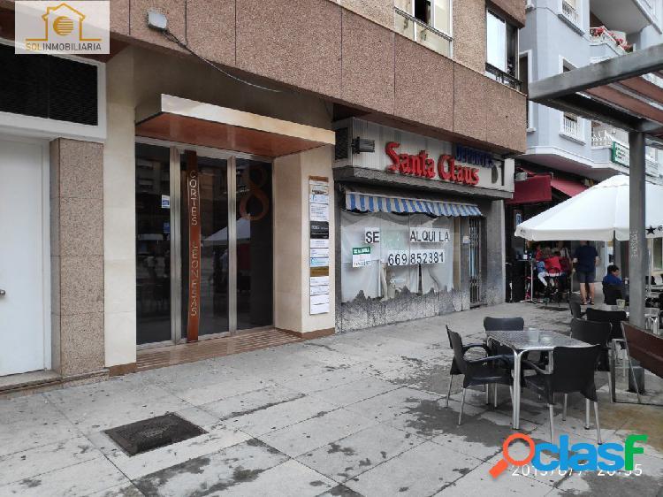 Excelente local comercial en pleno centro de León