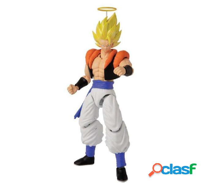 Figura Deluxe de Dragon Ball Gogeta Articulada de 17 cm