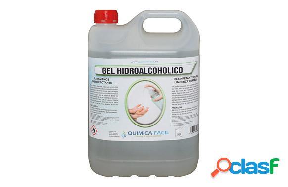 Gel Higienizante Hidroalcohólico QF 5L