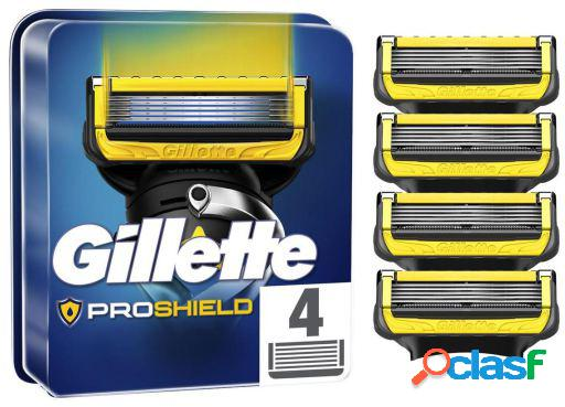 Gillette Recambio Hojas de Afeitar Proshield 4 uds