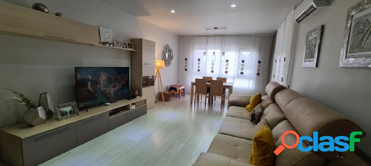 Gran piso de 140 M2, reformado, amueblado y equipado