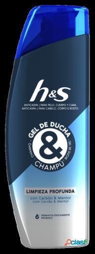 H&S Champú Anticaspa & Gel de Ducha Limpieza profunda 300